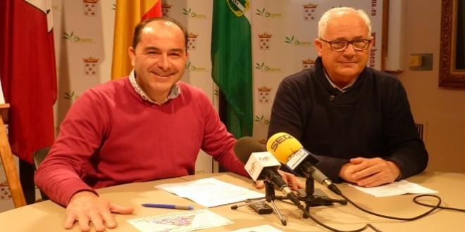 El concejal de Salud, José Francisco Gómez y el técnico de este área, Manuel Ortiz, esta mañana en la presentación de este programa.