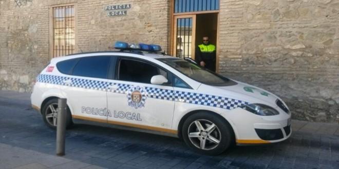Jefatura de la Policía Local de Baena. Imagen de archivo: TV Baena.