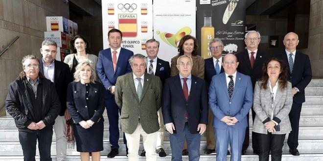Integrantes del Comité Organizador de las Jornadas 'Aceite de Oliva Virgen Extra, Salud y Deporte'