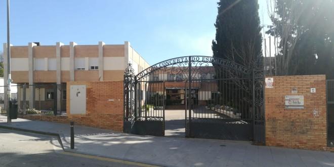 Fachada del colegio 'Espíritu Santo' de Baena.