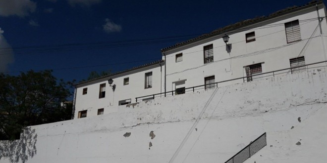 Viviendas en una barriada de Baena con mayor población en riesgo de vulnerabilidad. Foto de archivo: TV Baena.