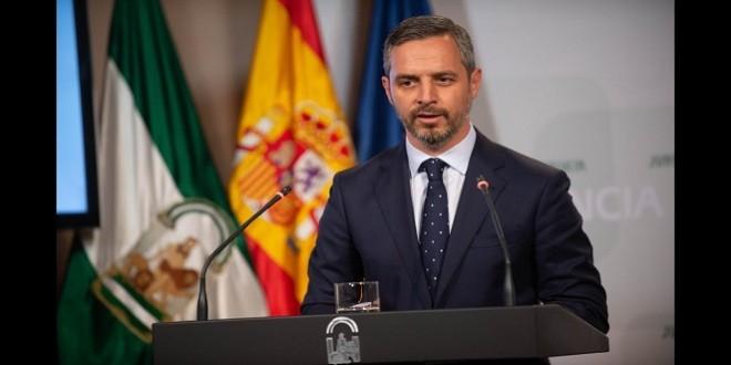 Juan Bravo, consejero de Hacienda de la Junta de Andalucía.