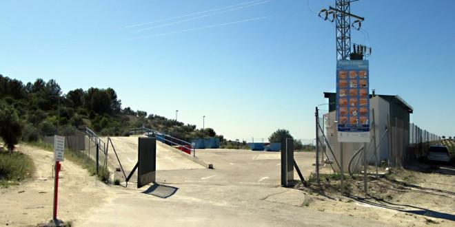 Instalaciones del Punto Limpio de Baena.