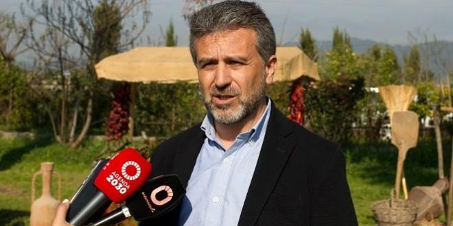 Francisco Ángel Sánchez, delegado de Agricultura de la Diputación de Córdoba.