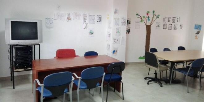 Instalaciones del Centro Cívico de Baena Solidaria. Foto: TV Baena.