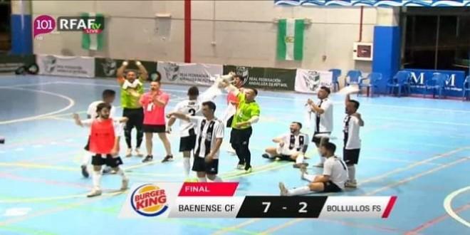 Atlético Baenense realiza la promoción deseada en la tercera división - Televisión Baena
