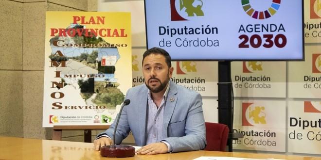 El delegado de Infraestructuras Rurales de la Diputación de Córdoba, Manuel Olmo. Foto: Diputación.