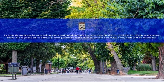 Ayuntamiento coronavirus cierre perimetral Baena Oct2020 (1)