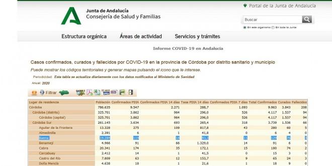 Ayuntamiento Coronavirus parte 16 Octubre 2020 (2)