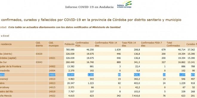 Ayuntamiento Coronavirus parte 5 abril 2021