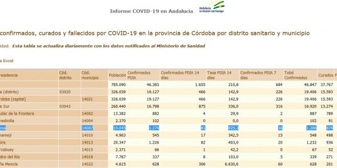 Ayuntamiento Coronavirus parte 6 abril 2021